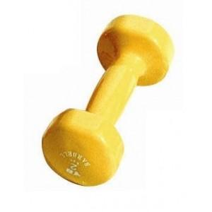 Činka VDB 2,0 kg York Fitness - žlutá