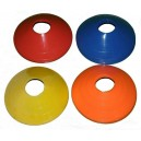 Kužely kopaná nízké 20 ks Spartan modro/žluto/oranžovo/červené