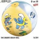 Nafukovací plážový míč ŠMOULOVÉ
