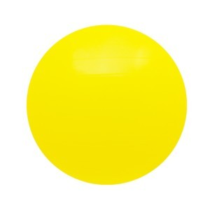 Gymnastický míč PLATINIUM Classic 65 žlutá